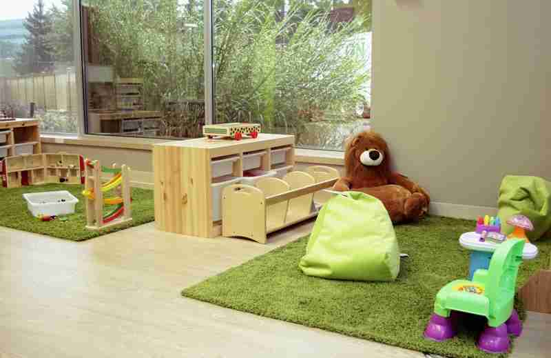 Kids play room with toys
